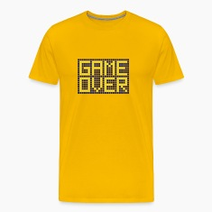 Yellow Game Over T-Shirts (Short sleeve)