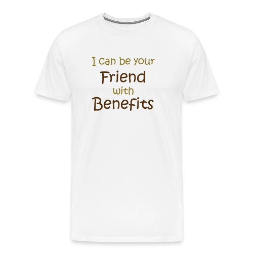 Mens FRIENDS WITH BENIFITS tshirt - Men's Premium T-Shirt