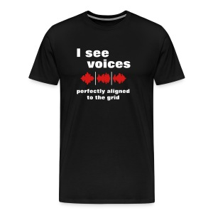 I See Voices - Men's Premium T-Shirt