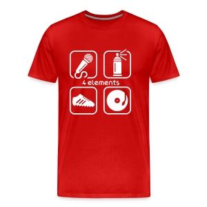 Four Elements T-Shirt. 16 colors available. - Men's Premium T-Shirt