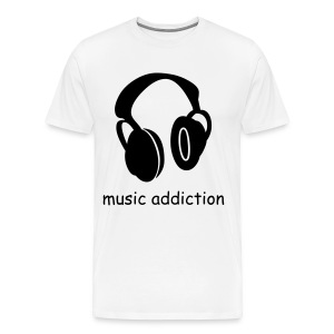 music addiction - Men's Premium T-Shirt