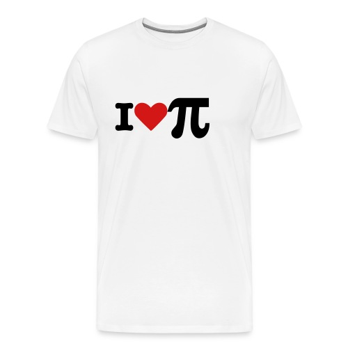 I LOVE PIE - Men's Premium T-Shirt