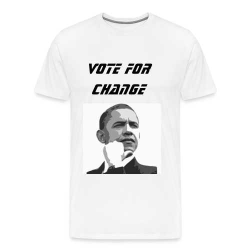 Vote For Change T-Shirt - Men's Premium T-Shirt