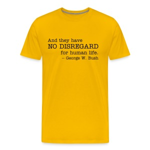 No Disregard - Men's Premium T-Shirt