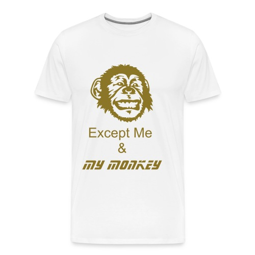 Just Me & My Money - Men's Premium T-Shirt