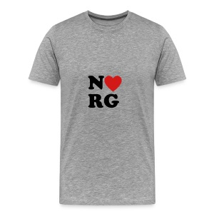 NRG Heart - Men's Premium T-Shirt