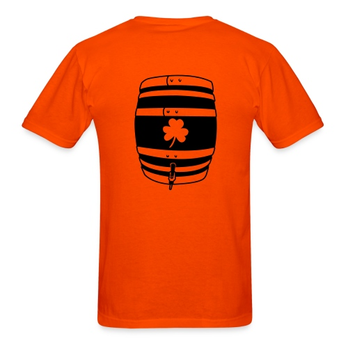 Irish beer keg - Men's T-Shirt