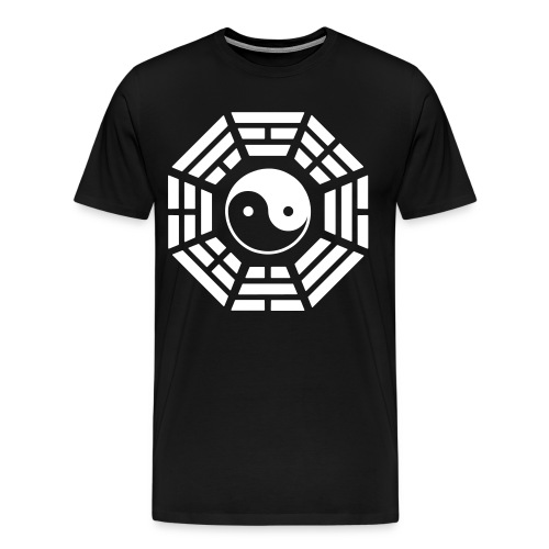 Yin Yang Black - Men's Premium T-Shirt