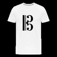 T-Shirts ~ Men's Premium T-Shirt ~ Alto Clef Shirt