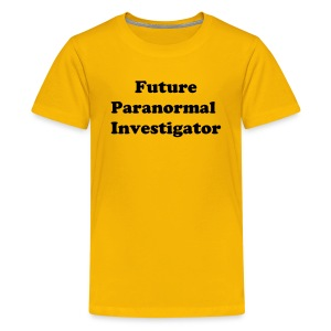 Kid's Tee (Future Investigator) - Yellow - Kids' Premium T-Shirt