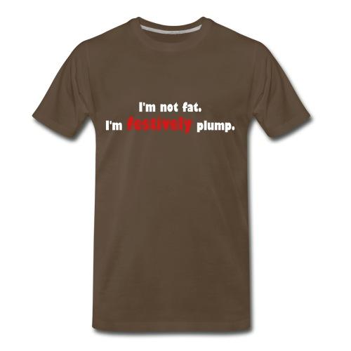 festivley plump - Men's Premium T-Shirt