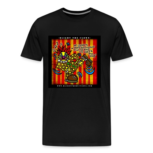 Blight the Clown Drawing 4 - Men's Premium T-Shirt