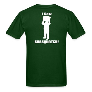 Bossquatch - The Sighting - Men's T-Shirt