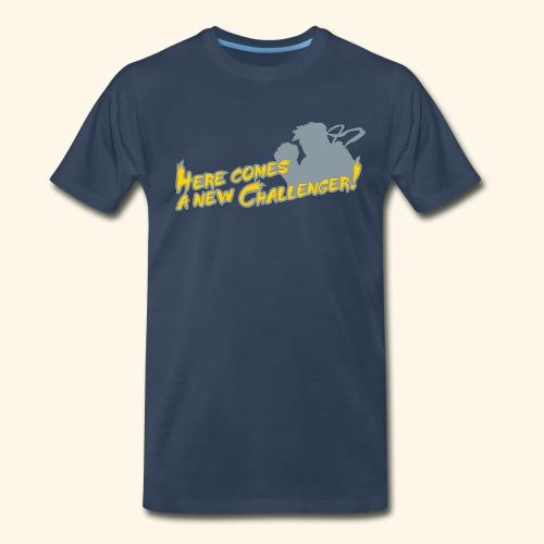 Here comes a new challenger! - Men's Premium T-Shirt