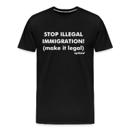 T-Shirts ~ Men's Premium T-Shirt ~ Make immigration legal