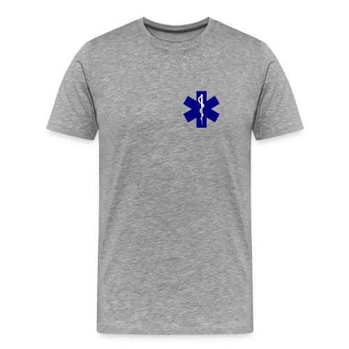 EMT Duty Shirt with Sleeve ID - Men's Premium T-Shirt