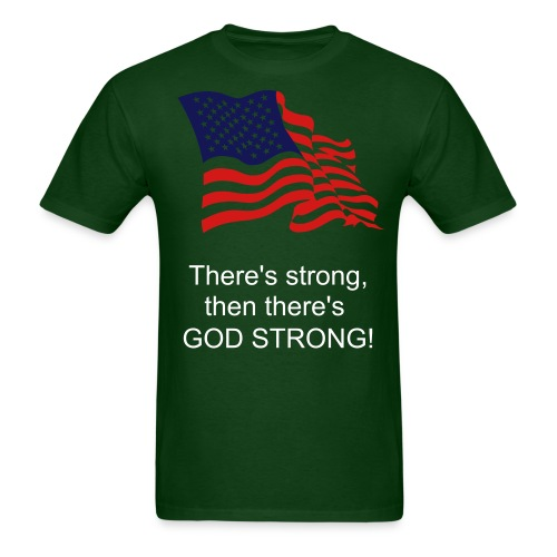 God strong - Men's T-Shirt
