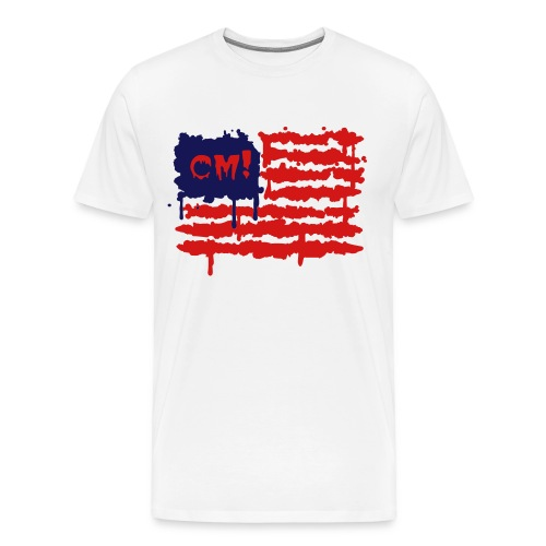 Cereal Monsters (trashed flag) - Men's Premium T-Shirt