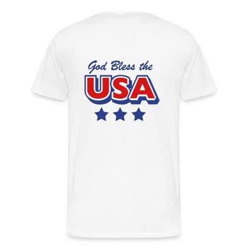 Pray 4 Obama USA - Men's Premium T-Shirt