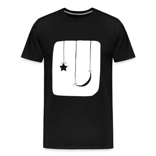 Moon and Star - Men's Premium T-Shirt