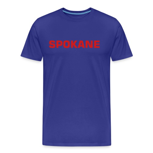 Spokane, Get Your Shirt, Man (royal) - Men's Premium T-Shirt