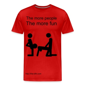 more ppl more fun - Men's Premium T-Shirt