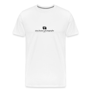 off-white, Black Logo  - Men's Premium T-Shirt