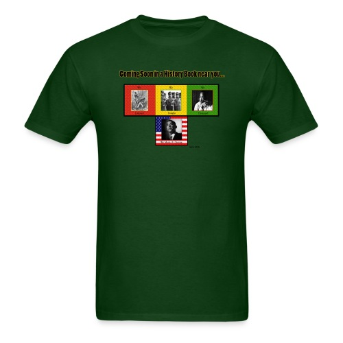 Black History (Green) - Men's T-Shirt