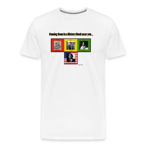 Black History (White) - Men's Premium T-Shirt