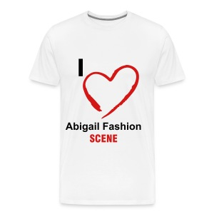 I Heart AbigailFashionScene - Men's Premium T-Shirt