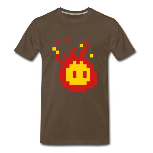 Fireball Chocolate Tee - Men's Premium T-Shirt