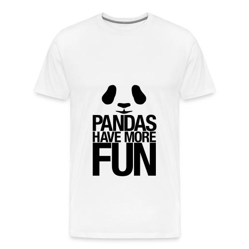 Panda... - Men's Premium T-Shirt