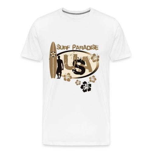 usa surf - Men's Premium T-Shirt