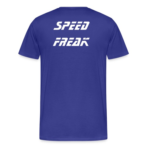 SPEED FREAK SHIRT/ ROYAL BLUE - Men's Premium T-Shirt