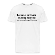 T-Shirts ~ Men's Premium T-Shirt ~ T-Shrits with Temple Name