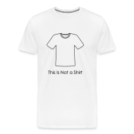 T-Shirts ~ Men's Premium T-Shirt ~ This is Not a Shirt