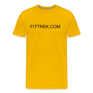 FITTREK.COM SHIRT - Men's Premium T-Shirt