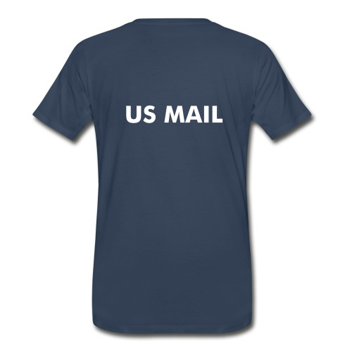 USPS - Rural Carrier w/ back - Men's Premium T-Shirt