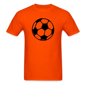 Orange Soccer Shirt - Men's T-Shirt