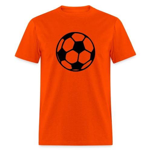 Orange Soccer Shirt - Men's T-Shirt