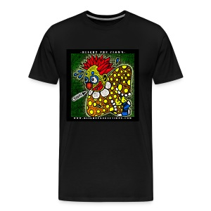 Blight the Clown Drawing 1 - Men's Premium T-Shirt