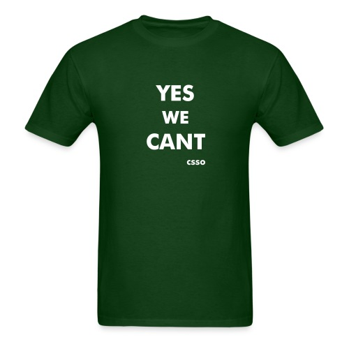 Yes We Cant - unisex - Men's T-Shirt