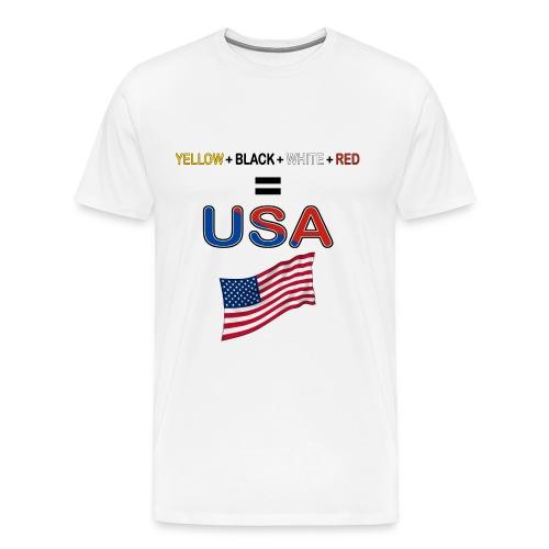 usa people - Men's Premium T-Shirt