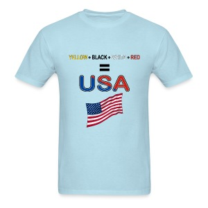 usa people - Men's T-Shirt