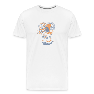 Natural Cool Vintage Chinese Dragon Graphic T-Shirts