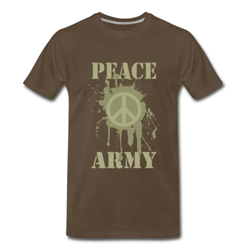 peace army - Men's Premium T-Shirt