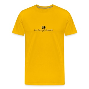 Yellow, Blue logo - Men's Premium T-Shirt
