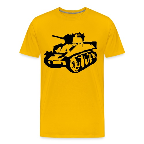 Military Tank - Men's Premium T-Shirt