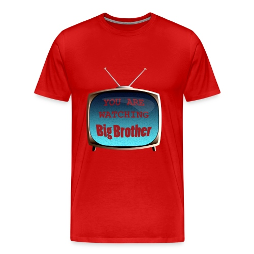 Watching Big Brother - Men's Premium T-Shirt