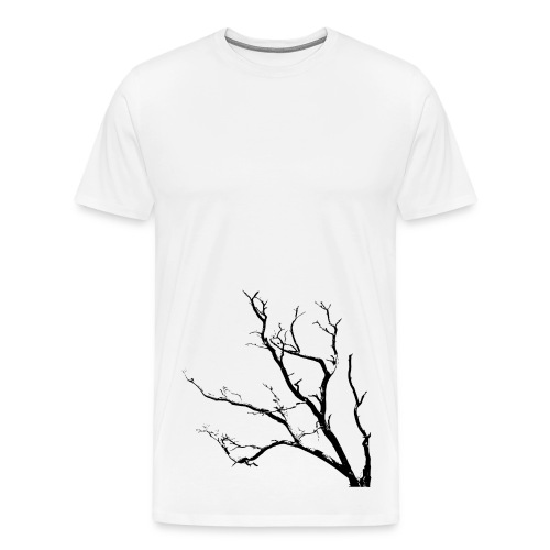 black tree - Men's Premium T-Shirt